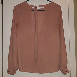 FOREVER 21 LOW BACK BLOUSE